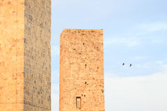 De torens van San Gimignano. Toscanië, Italië, Europa Royalty-vrije Stock Foto