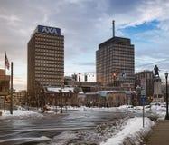 De torens van Syracuse Stock Afbeeldingen