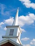 De Torenspits van de kerk Stock Foto