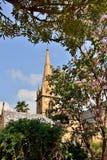 De torenspits van de kerk Stock Afbeelding