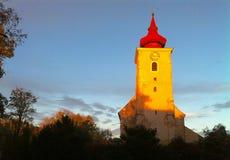 De torenspits van de kerk Royalty-vrije Stock Afbeeldingen