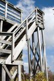 De torenstappen van de observatie Royalty-vrije Stock Afbeeldingen