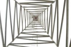 De torenstructuur van het staal Stock Afbeelding