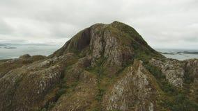 De Torghatten-Berg stock videobeelden
