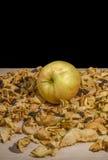 De torkade och nya frukterna Arkivfoto