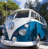 de tossa Mar Spain Wrzesień 17, 2016: Rocznik Volkswagen T w 23rd wolkswagenów klasyków spotykać Zdjęcie Royalty Free