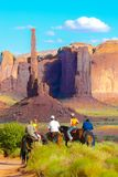 De Totempaal van de Vallei van het monument Royalty-vrije Stock Foto