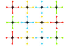 De toutes les couleurs : Conception 6 Photographie stock libre de droits