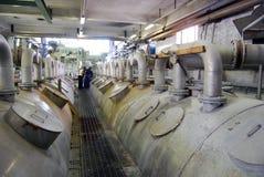 De tracé la pulpe de papier de moulin photographie stock