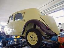 De Tractie van Citroën onder reparatie Stock Afbeelding