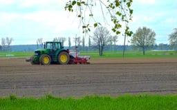 de tractor Royalty-vrije Stock Foto's