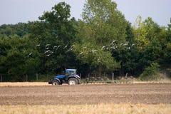 De tractor van de landbouw royalty-vrije stock afbeelding