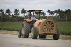 De Tractor van de ventilator Royalty-vrije Stock Fotografie
