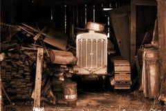 De Tractor van grootvaders Stock Foto's