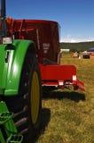 De Tractor van het landbouwbedrijf royalty-vrije stock afbeelding