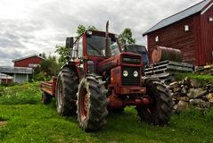 De tractor van het landbouwbedrijf Stock Fotografie