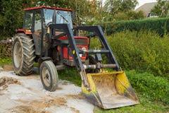 De tractor van landbouwers Royalty-vrije Stock Fotografie