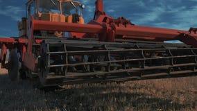 De tractorgehechtheid sluit omhoog stock footage