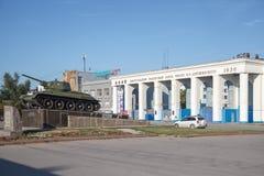 De tractorinstallatie van Volgograd stock afbeelding
