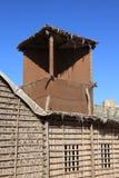 De traditionele Arabische Toren van de Wind in het Museum van Doubai Stock Afbeelding