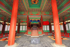 De Traditionele Architectuur van Korea – Gyeongheuigung Royalty-vrije Stock Fotografie