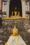 De traditionele Boedha beeldhouwwerken van Thailand, Chiang Mai Stock Fotografie