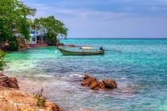 De traditionele boot van Thailand royalty-vrije stock afbeelding