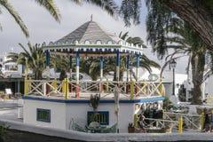 De traditionele bouw in Teguise Stock Fotografie
