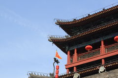 De traditionele bouw van China Royalty-vrije Stock Afbeelding