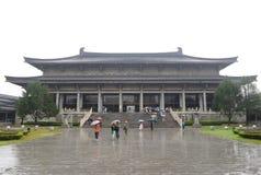 De traditionele bouw van shannximuseum Royalty-vrije Stock Foto's