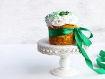 De traditionele cake van Pasen Stock Afbeeldingen