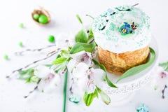 De traditionele cake van Pasen Stock Foto