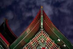 De traditionele Chinese Bouw Royalty-vrije Stock Afbeelding