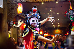 De traditionele Chinese Opera van Sichuan Royalty-vrije Stock Afbeelding