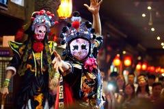 De traditionele Chinese Opera van Sichuan Royalty-vrije Stock Foto's