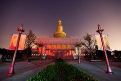 De traditionele Chinese tempel Royalty-vrije Stock Afbeeldingen