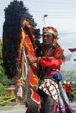De Traditionele dans van cultuurphothography van Oost-Java Royalty-vrije Stock Foto's