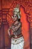 De Traditionele Dans van Kambodja stock foto