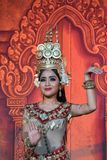 De Traditionele Dans van Kambodja royalty-vrije stock afbeelding