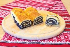 De traditionele Hongaarse broodjes van het papaverzaad Royalty-vrije Stock Afbeelding