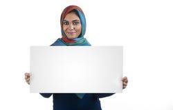 De traditionele Islamitische stafmedewerker in zaken presen Royalty-vrije Stock Foto