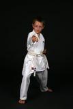 De traditionele Jongen van de Karate royalty-vrije stock foto