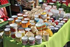 De traditionele keramiek van Hongarije Stock Foto's