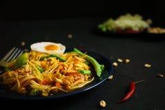 De traditionele keuken van Thailand, Som tum, Kruidige salade, Papajasalade, Kruidig voedsel royalty-vrije stock foto's