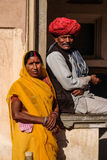 De traditionele kleding van Jaipur Royalty-vrije Stock Foto
