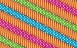 De traditionele kleurrijke achtergrond van het bandanapatroon royalty-vrije illustratie