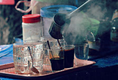 De traditionele Koffie van Laos Royalty-vrije Stock Afbeelding