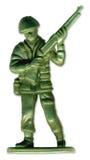 De traditionele Militair van het Stuk speelgoed Stock Afbeeldingen
