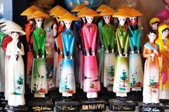 De traditionele poppen van Vietnam Stock Afbeelding