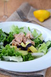 De traditionele salade nicoise Stock Foto's